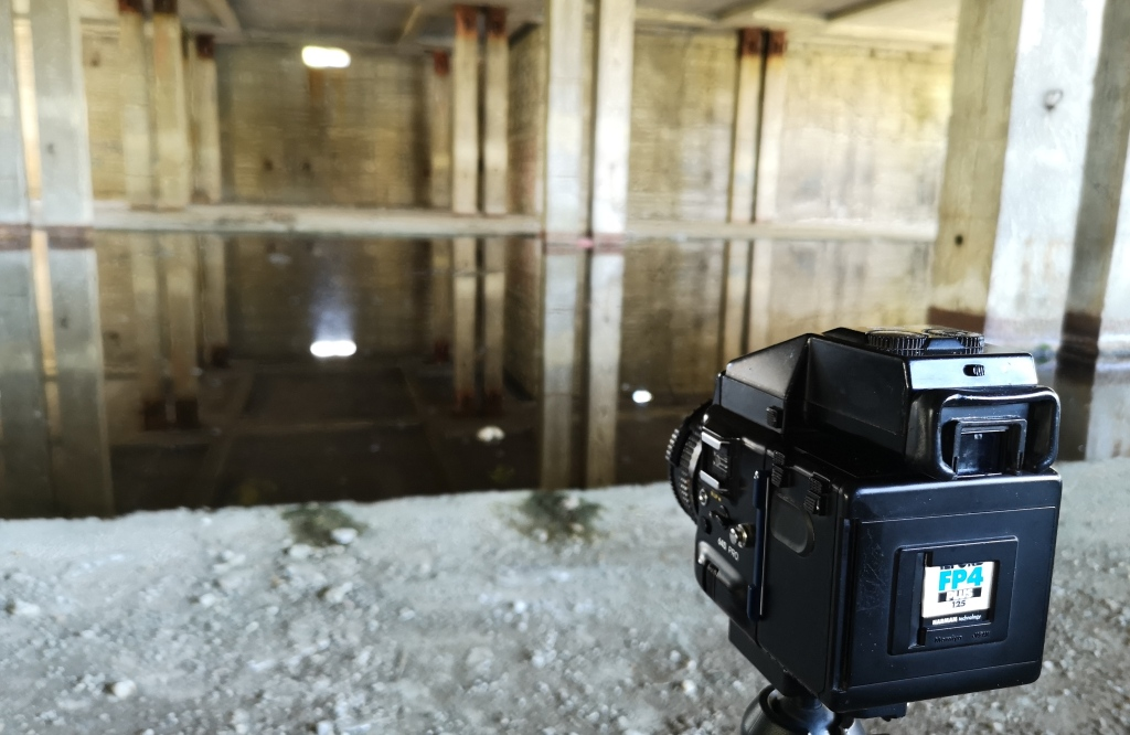 Mamiya 645 Pro in the Abadoned barrack – Seeing through a